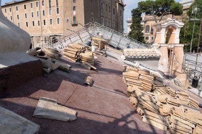 tetto San Giuseppe dei Falegnami
