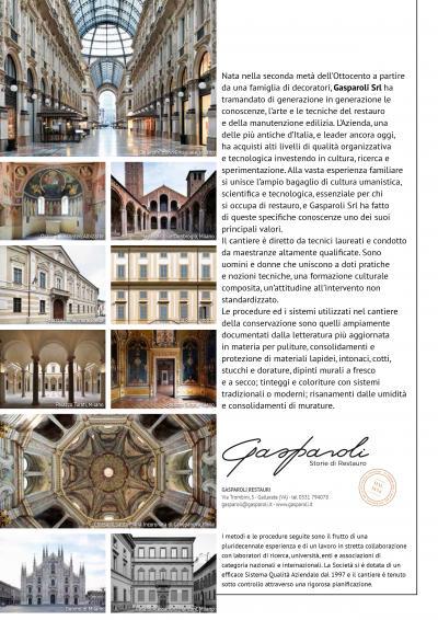 presentazione Gasparoli Restauri - recmagazine146