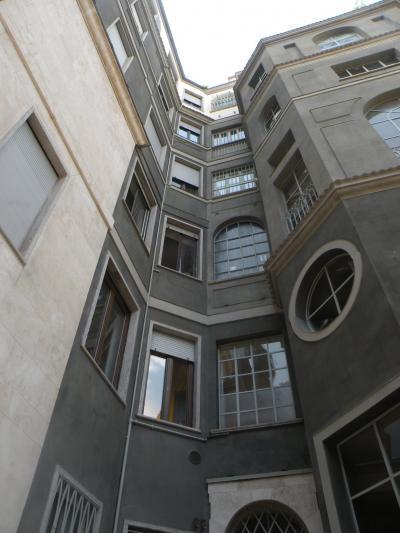 Vista cortile interno, Ca Brutta di Giovanni Muzio_Milano