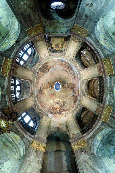 rec146_Cappella degli Italiani a Praga, vista della cupola