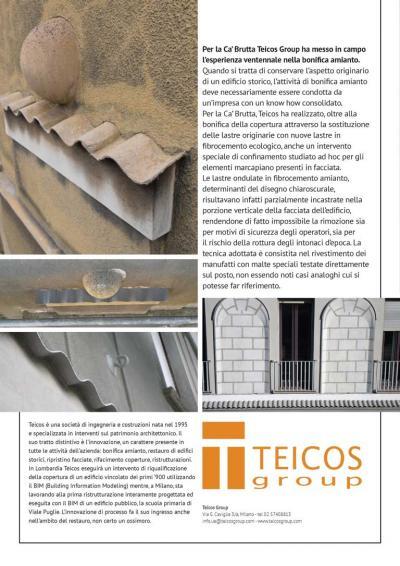 lavori Teicos alla Ca Brutta - recmagazine145
